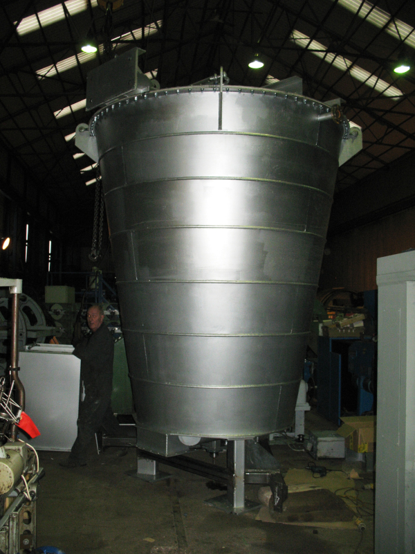 Jacketed Batch Mixer