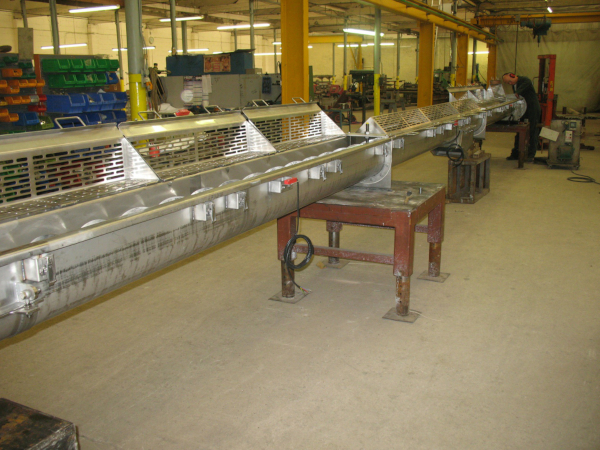 Screw Conveyors for Speciality Chemical Industry