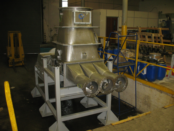 Hopper for Biomass